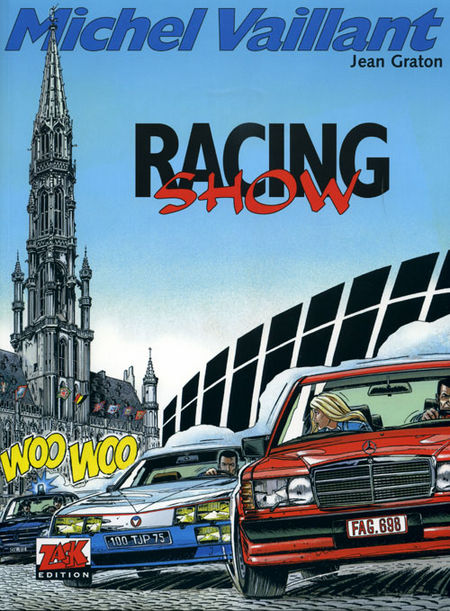 Michel Vaillant 46: Racing Show - Das Cover