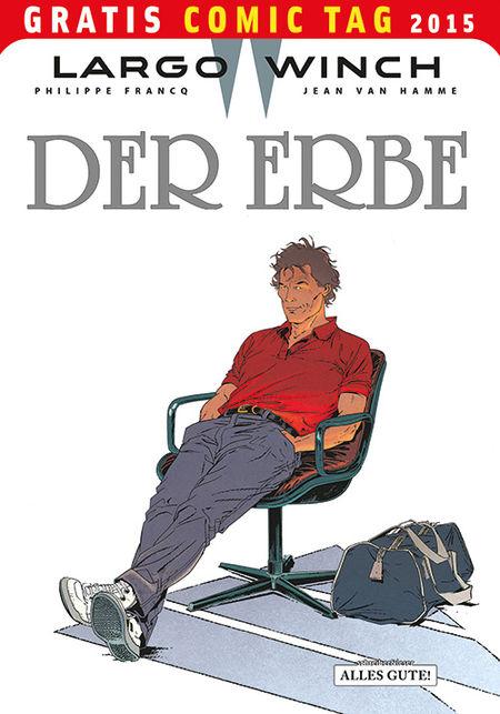 Largo Winch: Der Erbe - Gratis Comic Tag 2015 - Das Cover