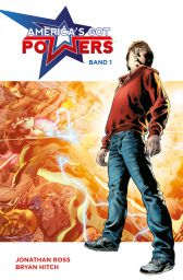America`s got Powers 1 - Das Cover