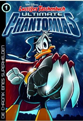 Lustiges Taschenbuch Ultimate Phantomias 01: Die Chronik eines Superhelden - Das Cover