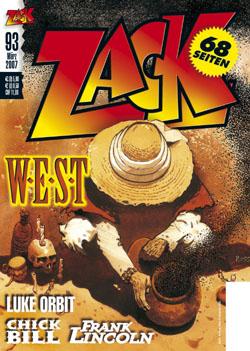 Zack 93 - Das Cover