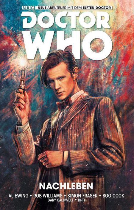 Doctor Who - Der elfte Doctor 1: Nachleben - Das Cover