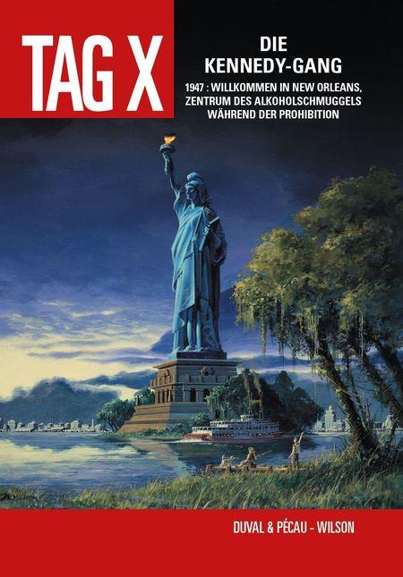 Tag X Band 2: Die Kennedy-Gang - Das Cover