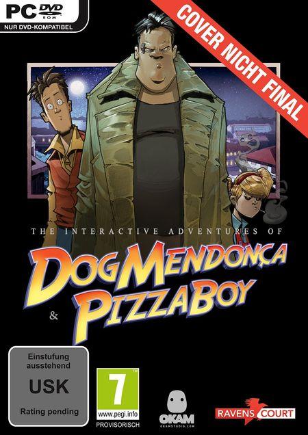 Dog Mendonça & Pizza Boy: The interactive Adventures (PC) - Der Packshot