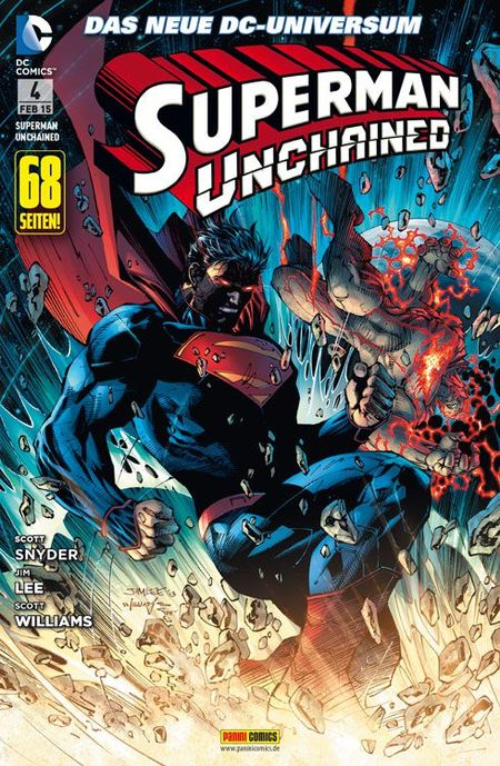 Superman: Unchained 4 - Das Cover