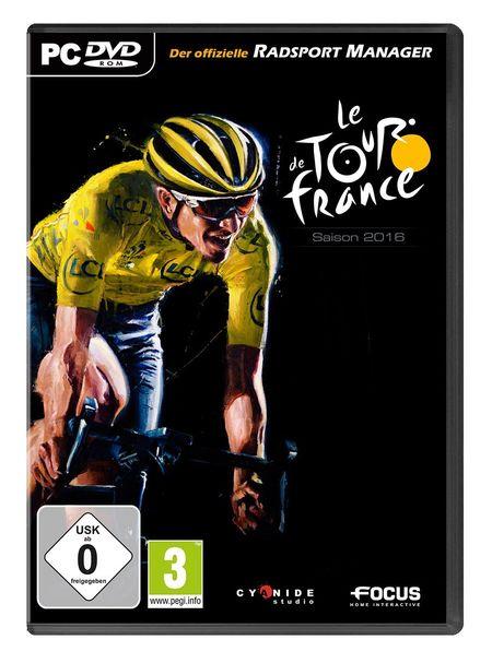 Tour de France 2016: Der offizielle Radsport-Manager (PC) - Der Packshot