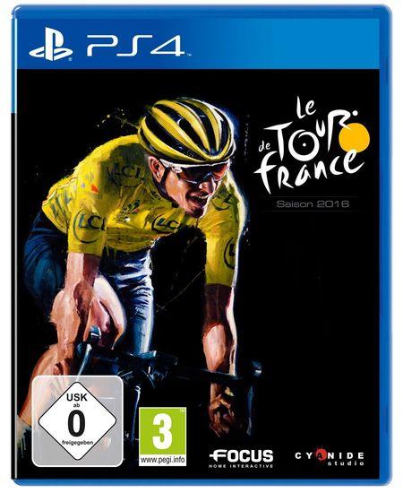 Tour de France 2016 (PS4) - Der Packshot