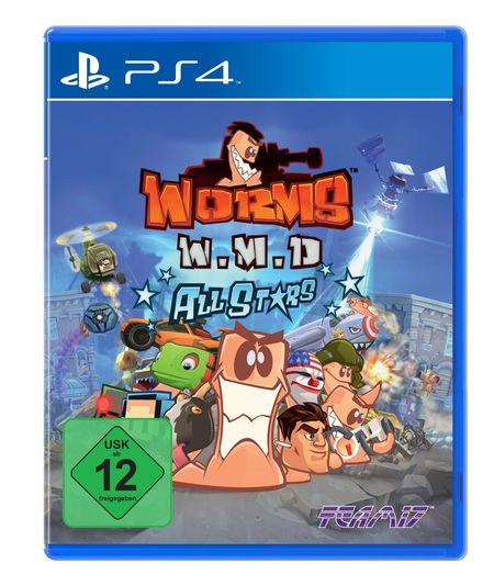 Worms W.M.D. (PS4) - Der Packshot