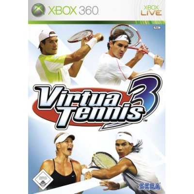 Virtua Tennis 3 - Der Packshot