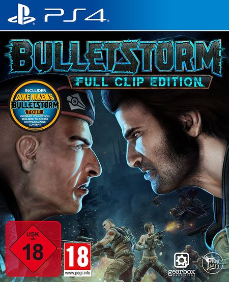 Bulletstorm Full Clip Edition (Ps4) - Der Packshot