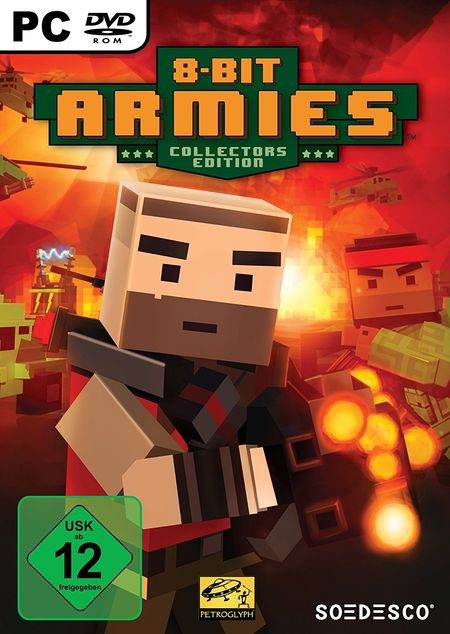 8 Bit Armies Collector's Edition (PC) - Der Packshot