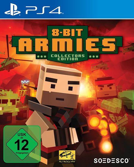 8 Bit Armies Collector's Edition (PS4) - Der Packshot