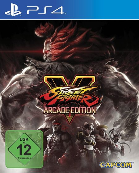 Street Fighter V: Arcade Edition (PS4) - Der Packshot