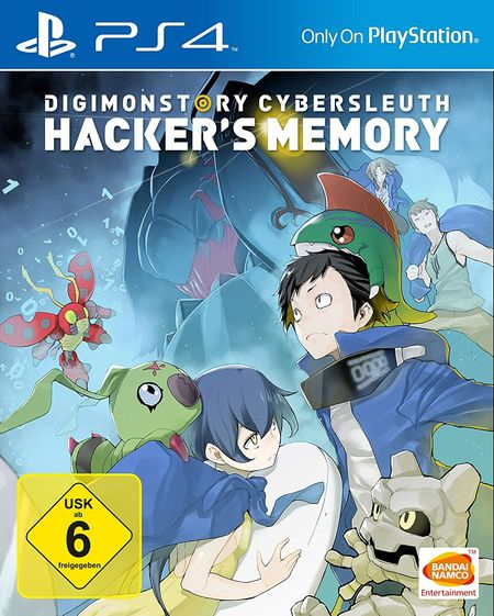Digimon Story: Cyber Sleuth - Hacker´s Memory (PS4) - Der Packshot