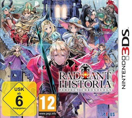 Radiant Historia Perfect Chronology (3DS) - Der Packshot