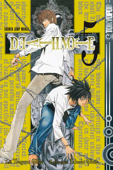 Death Note 5 - Das Cover