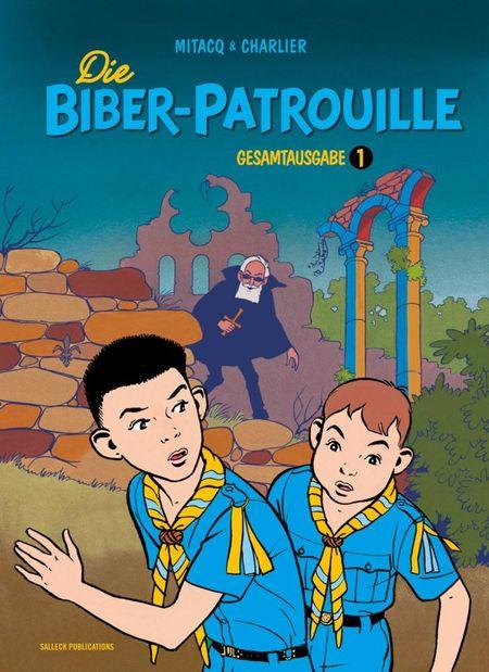 Die Biber-Patrouille – Gesamtausgabe 1 - Das Cover
