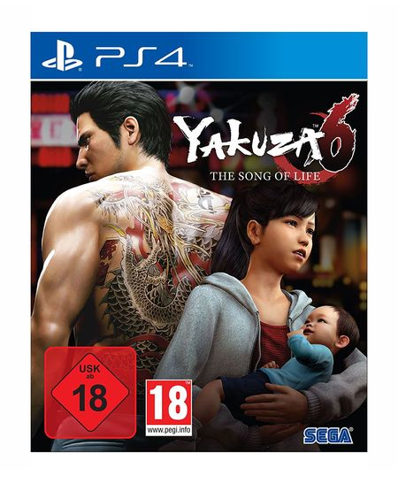 Yakuza 6: The Song of Life - Essence of Art Edition (PS4) - Der Packshot