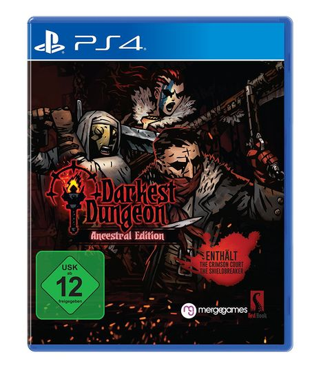 Darkest Dungeon: Crimson Edition (PS4) - Der Packshot