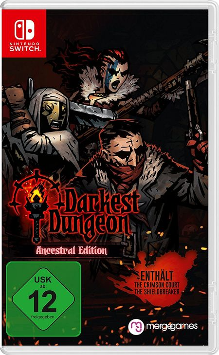 Darkest Dungeon: Crimson Edition (Switch) - Der Packshot