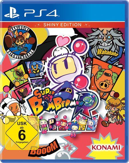 Super Bomberman R - Shiny Edition (PS4) - Der Packshot