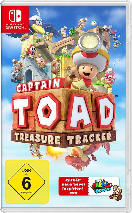 Captain Toad: Treasure Tracker (Switch) - Der Packshot