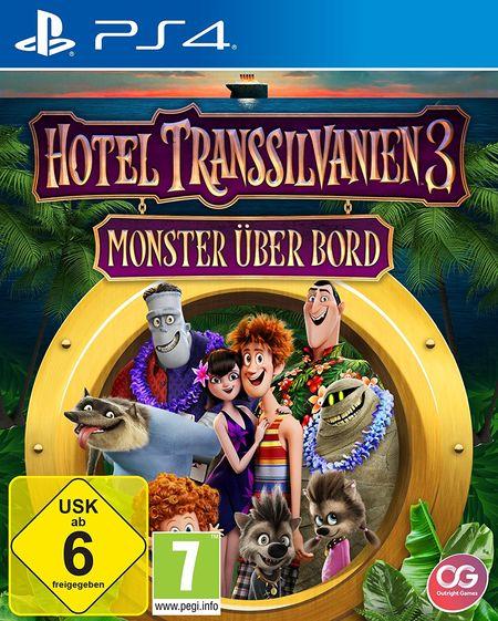 Hotel Transsilvanien 3: Monster über Bord (PS4) - Der Packshot