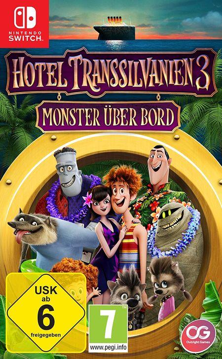 Hotel Transsilvanien 3: Monster über Bord (Switch) - Der Packshot