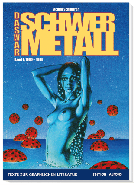 Das war Schwermetall – Band 1: 1980 - 1988 - Das Cover