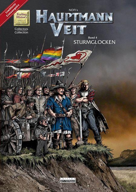 Hauptmann Veit 4 - Das Cover