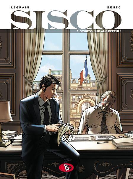 Sisco 1 - Das Cover