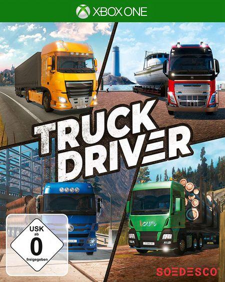 Truck Driver (Xbox One) - Der Packshot