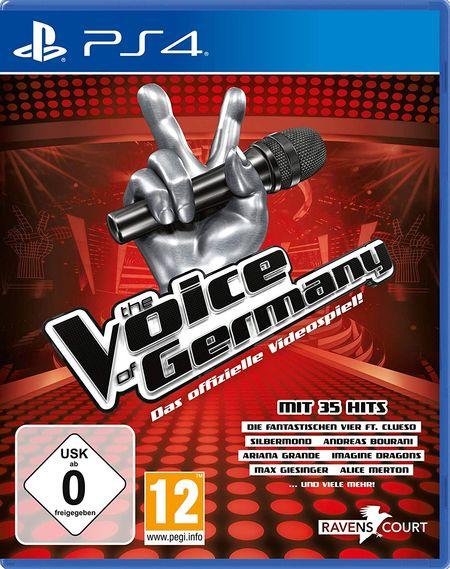 The Voice of Germany - Das offizielle Videospiel (PS4) - Der Packshot