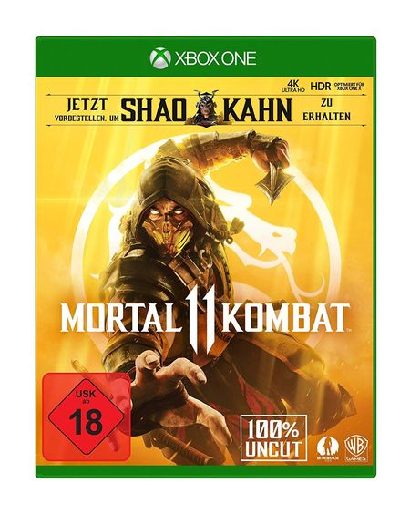 Mortal Kombat 11 (Xbox One) - Der Packshot