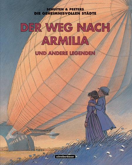 Die geheimnisvollen Städte – Der Weg nach Armilia und andere Legenden - Das Cover