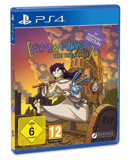 Edna Remake SPECIAL EDITION (PS4) - Der Packshot