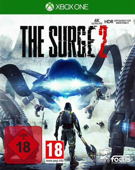 The Surge 2 (Xbox One) - Der Packshot
