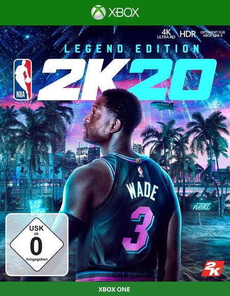 NBA 2K20 Standard Edition (Xbox One) - Der Packshot