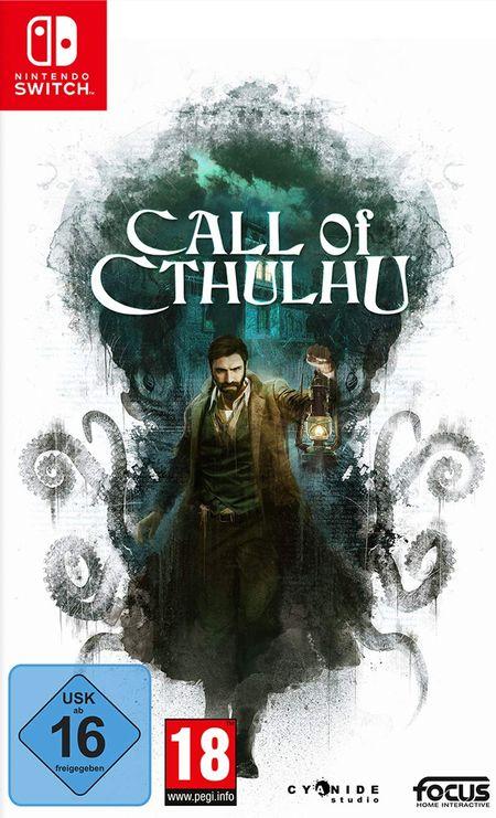 Call of Cthulhu (Switch) - Der Packshot