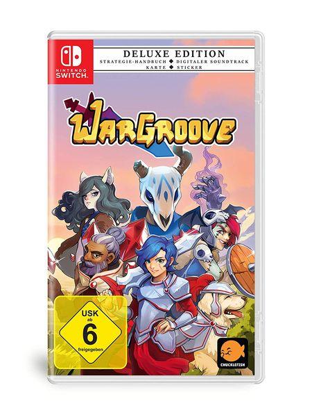 WarGroove: Deluxe Edition (Switch) - Der Packshot