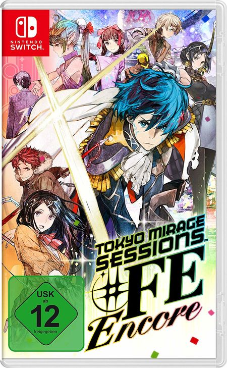 Tokyo Mirage Session #FE Encore (Switch) - Der Packshot