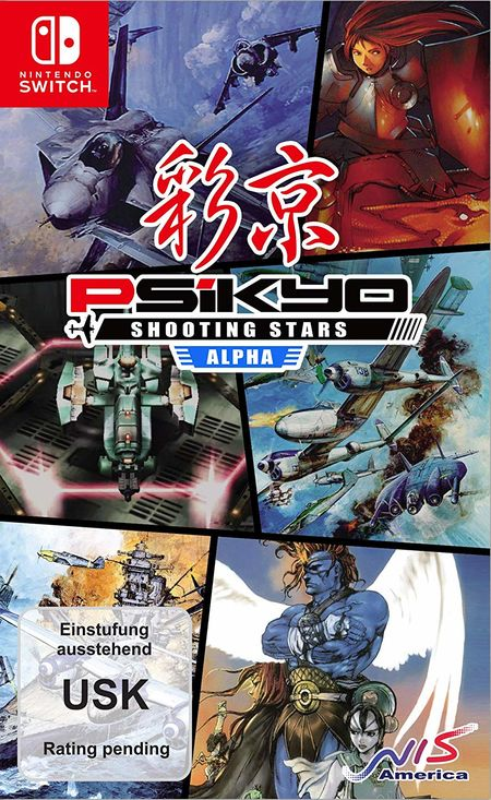 Psikyo Shooting Stars Alpha Limited Edition (Switch) - Der Packshot