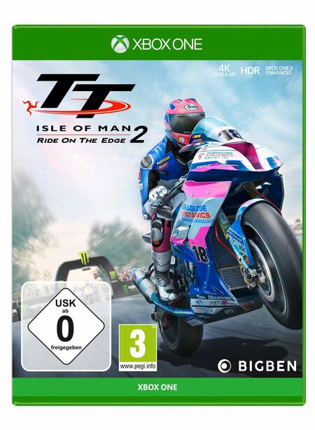 TT - Isle of Man 2 - Ride on the Edge (Xbox One) - Der Packshot