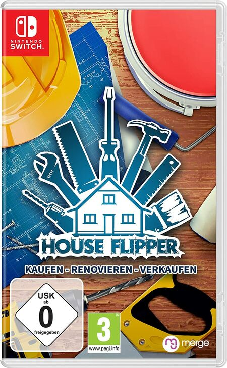 House Flipper (Switch) - Der Packshot