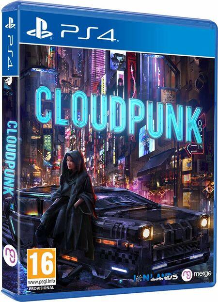 Cloudpunk (PS4) - Der Packshot