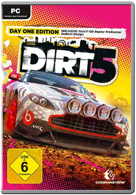 DIRT 5 - Day One Edition (PC) - Der Packshot
