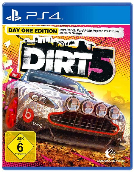 DIRT 5 - Day One Edition (PS4) - Der Packshot