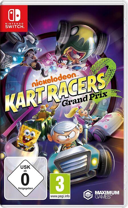 Nickelodeon Kart Racers: Grand Prix (Switch) - Der Packshot