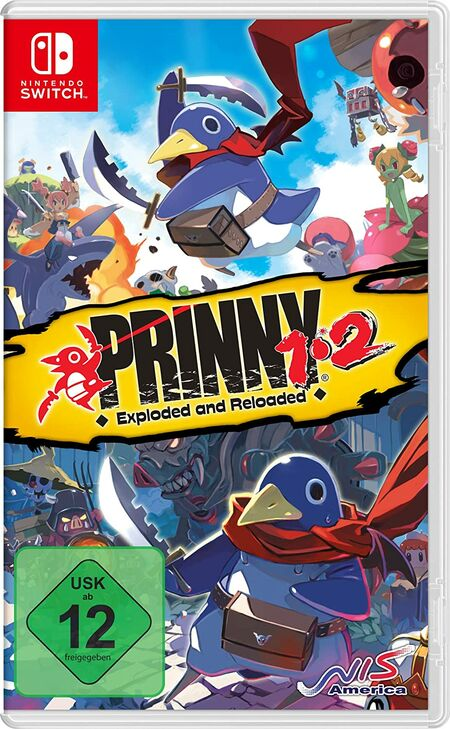 Prinny 1/2: Exploded and Reloaded Just Desserts Edition (Switch) - Der Packshot