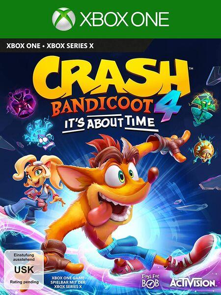 Crash Bandicoot™ 4: It's About Time (PS4) - Der Packshot